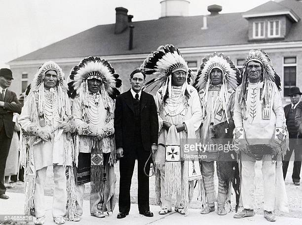 3/7/1934Rapid City South Dakota Comisioner of Indian Affairs John Collier is cunducting hearings at Rapid City SD to give Indians opportunity to...