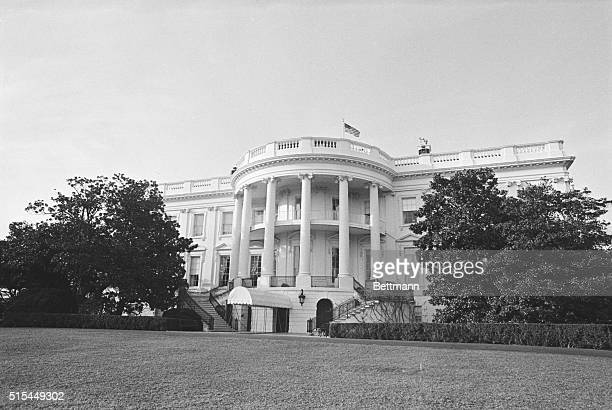 3/9/1972Washington DC Exterior view of the White House