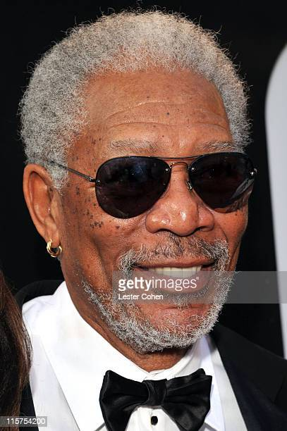 39th Life Achievement Award recipient Morgan Freeman arrives at AFI's 39th Annual Achievement Award Honoring Morgan Freeman at Sony Pictures Studios...