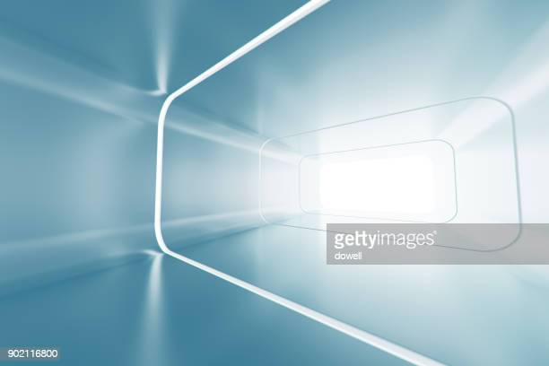 3d abstract tunnel - image stock pictures, royalty-free photos & images