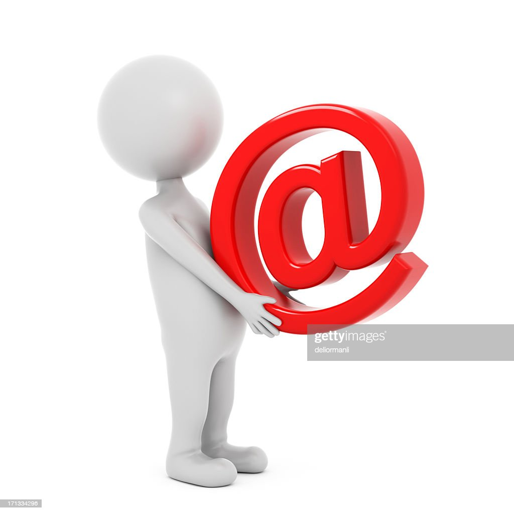3 d 文字用 E メールの記号 : ストックフォト