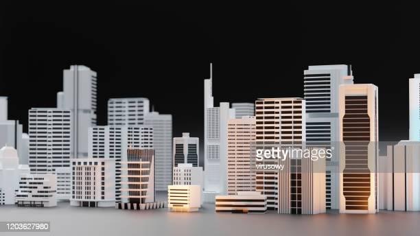 3d都市モデル - レプリカ ストックフォトと画像