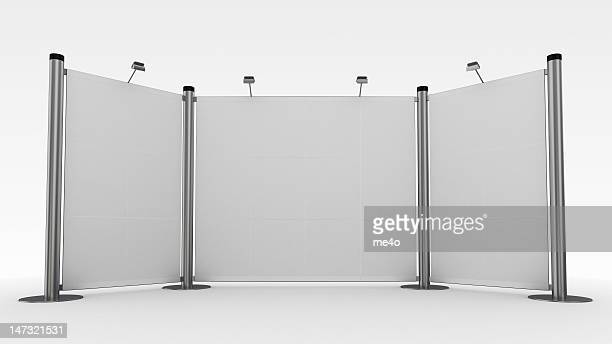 3d display,advertisement exhibition stand - tradeshow stock pictures, royalty-free photos & images