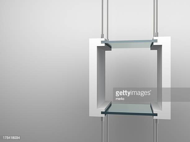 3d Empty showcase