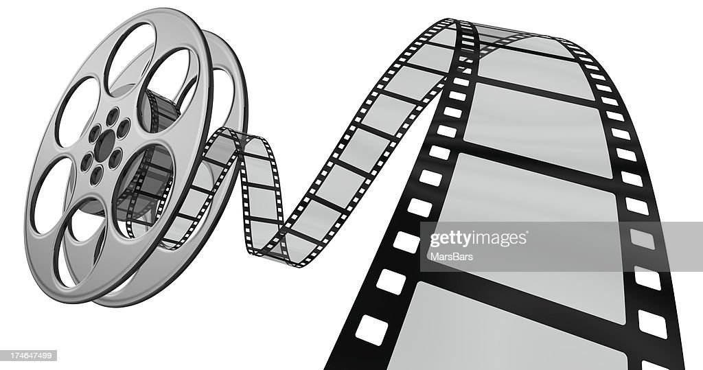 Film reel stock photos and pictures getty images 3d film coming out of its reel altavistaventures Images