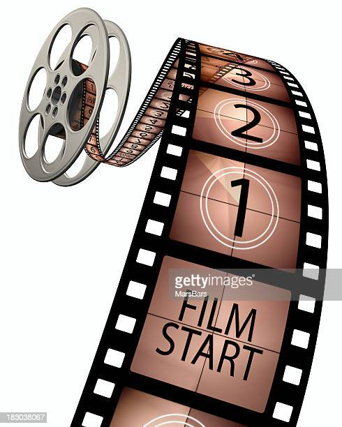3d film leader countdown