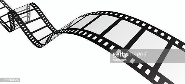 3 d filmstrip にホワイト