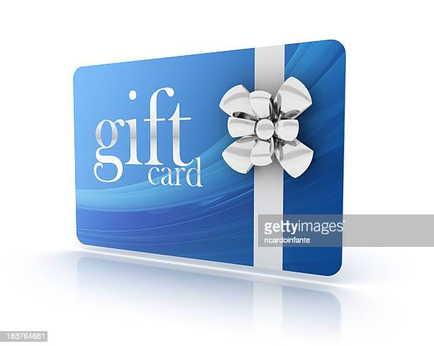 3d gift card - coupon stock photos and pictures