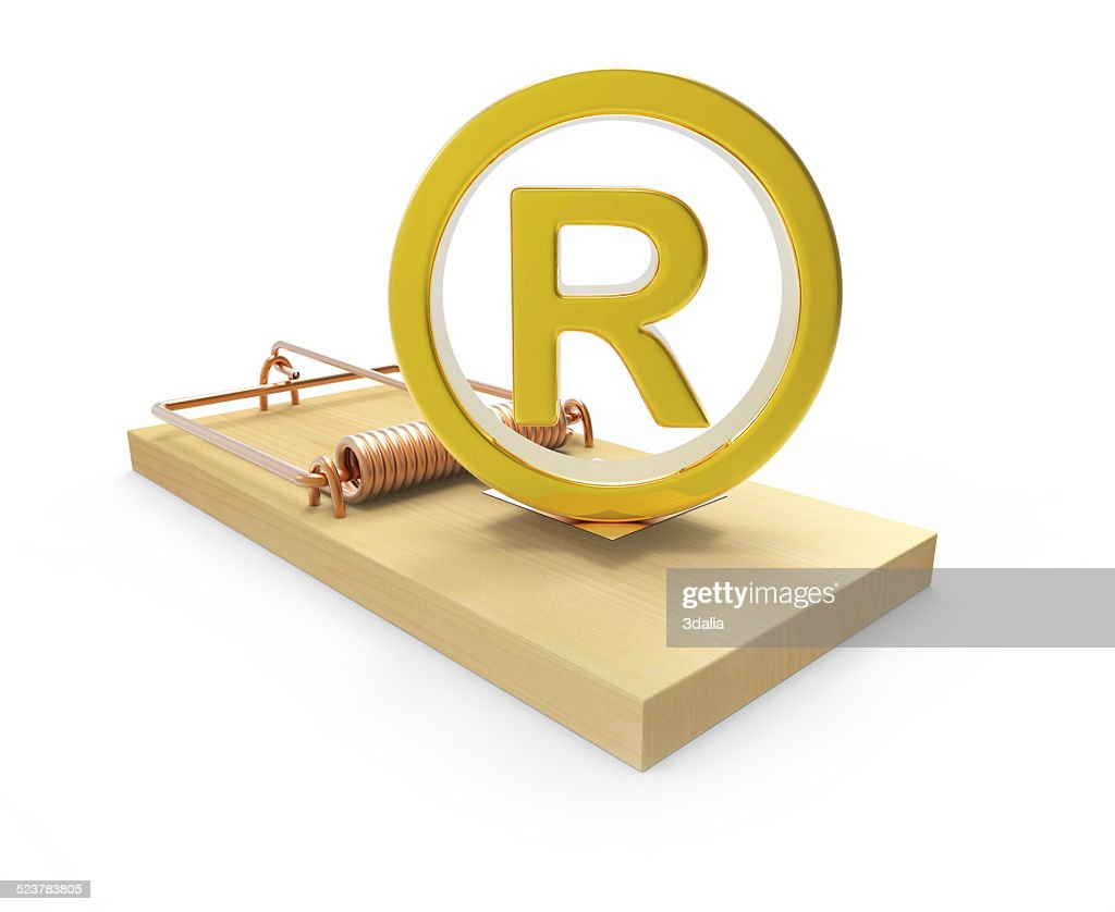 3d gold registered symbol on mousetrap stock photo getty images 3d gold registered symbol on mousetrap stock photo buycottarizona Gallery