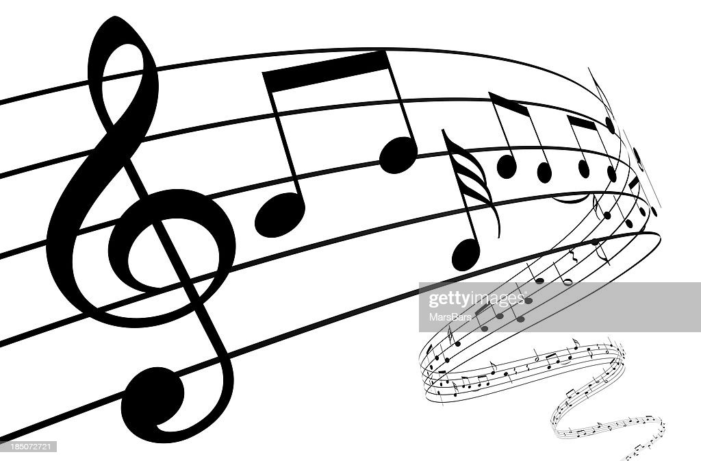 Musical note stock photos and pictures getty images 3d music notes dancing away altavistaventures Images