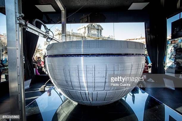 A 3d printer was installed to promote 'Rogue One A Star Wars Story' at the Puerta de Alcala in Madrid on December 19 2016 in Madrid Spain