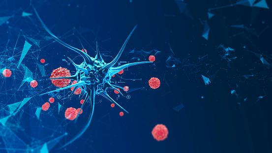 3d render biological cell 952804252