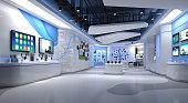 3d render technology store