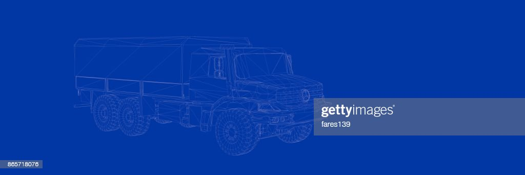 3d rendering of a truck on a blue background blueprint stock photo 3d rendering of a truck on a blue background blueprint stock photo malvernweather Gallery