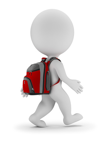 3d small people - back to school 578809114