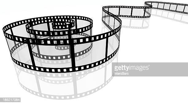 Pellicule, spirales 3D film