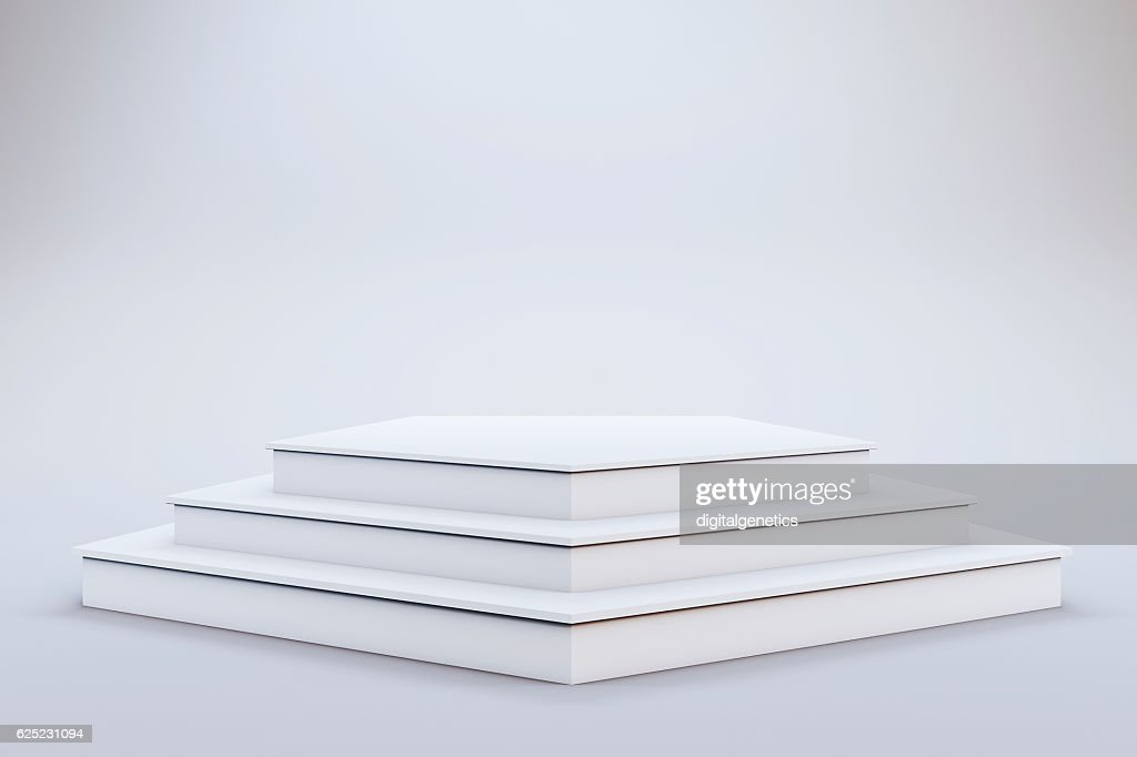 3d template of blank empty podium stage stock photo getty images