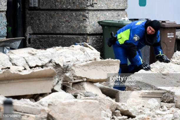 Magnitude earthquake shook the Croatian capital of Zagreb on March 22 damaging buildings and cutting electricity in a number of neighbourhoods.