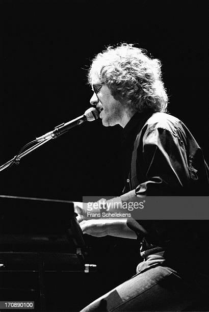 3rd: American musician Warren Zevon performs at Vredenburg in Utrecht, Netherlands on 3rd February 1988.