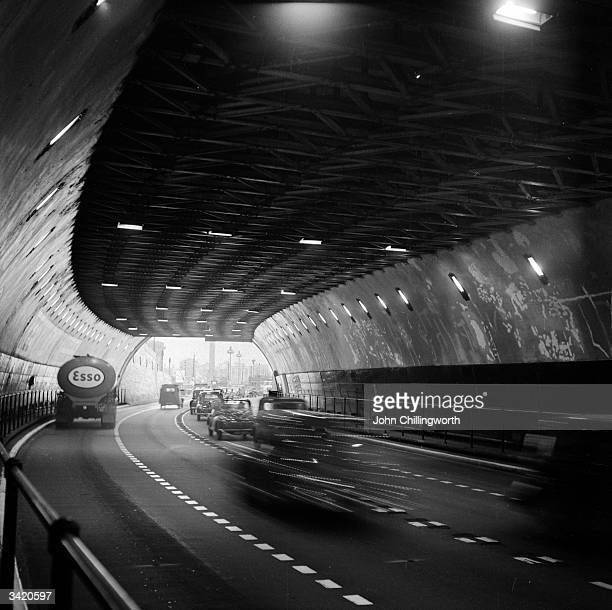 The Mersey Tunnel which connects Liverpool to Birkenhead Original Publication Picture Post 7105 The Best and Worst of British Cities Liverpool pub...