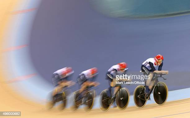 3rd August 2012 London 2012 Olympic Games Cycling Men's 400m Team Pursuit Final Great Britain