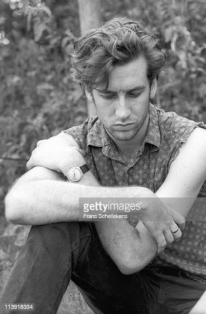 3rd AUGUST: Australian singer David McComb , lead singer with The Triffids posed in Sneek, Netherlands on 3rd August 1986.