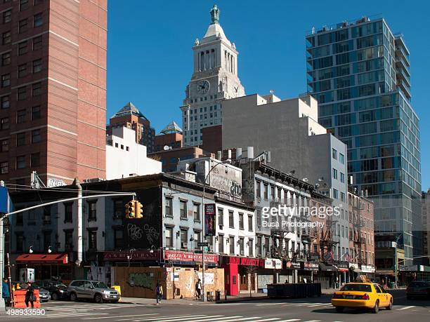 3rd Avenue and 12th Street in Manhattan, New York City