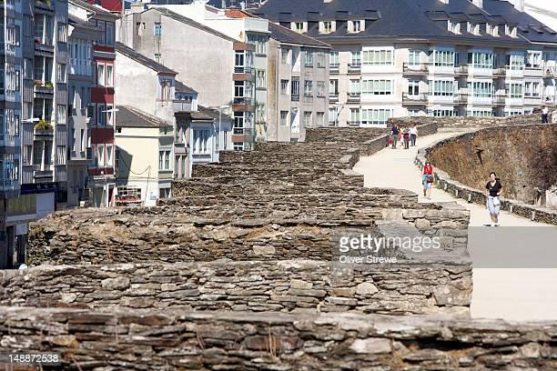 3rd century Roman wall around the old city.