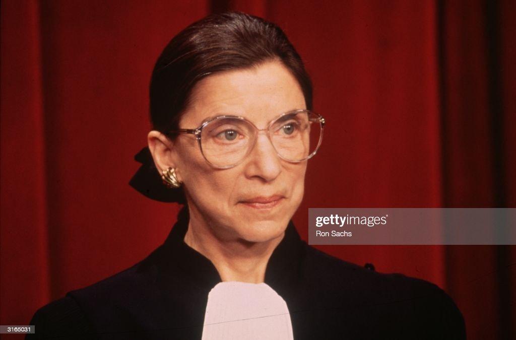 Ruth Bader Ginsberg : News Photo