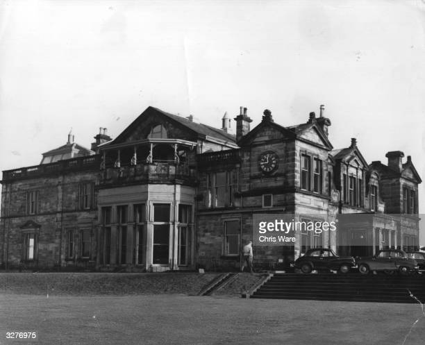 The famous clubhouse at St Andrews golf club in Fife The Royal and Ancient golf club at St Andrews was founded in 1754 and recognised as the...