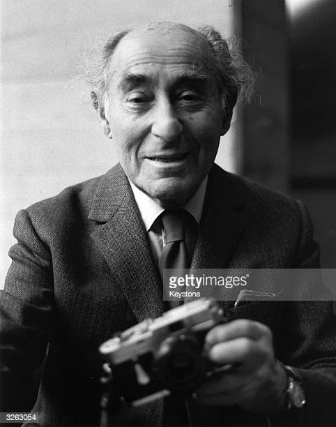 Photographer and photojournalist Alfred Eisenstadt at the age of 87