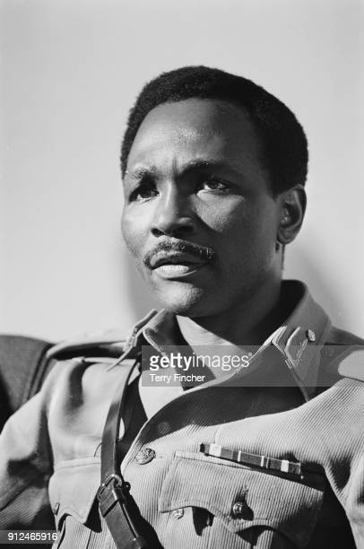 3rd Head of State of Nigeria, general Yakubu Gowon, 27th May 1968.