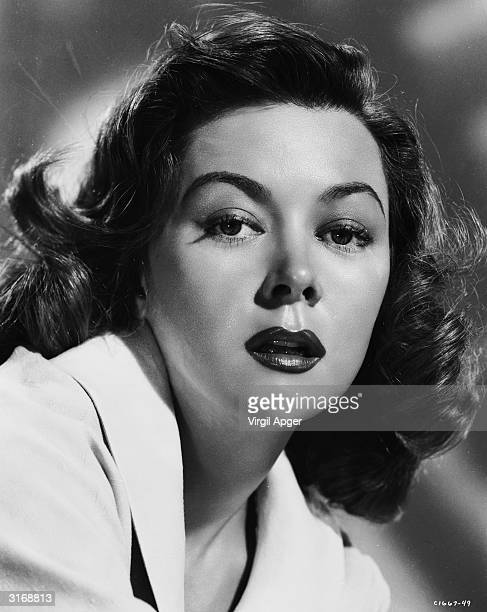 American film star Gloria Grahame