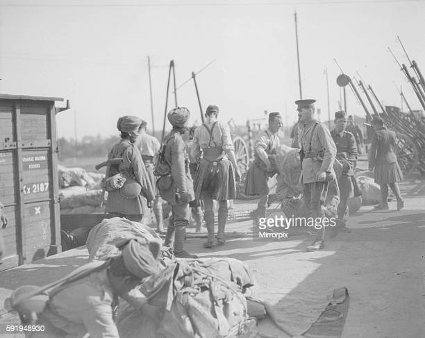 3rd Lahore Indian Division seen here at Orleans Circa October 1914 Among the few Territorials who have had the privilage of being sent to France are...