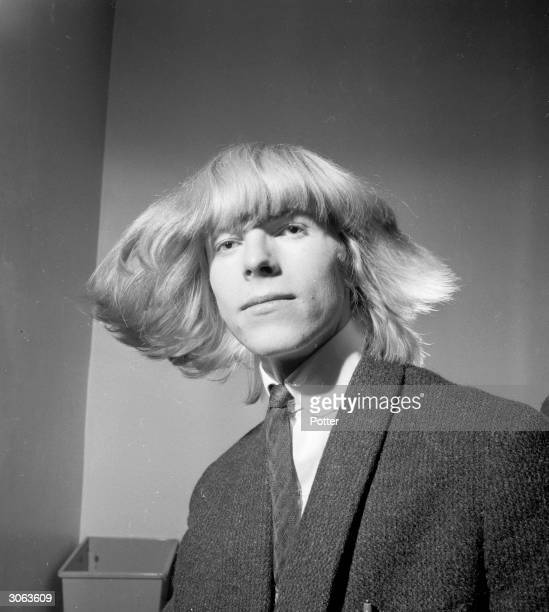 British pop star Davy Jones before he changed his name to Bowie following the success of the Monkees and their lead singer Davy Jones.