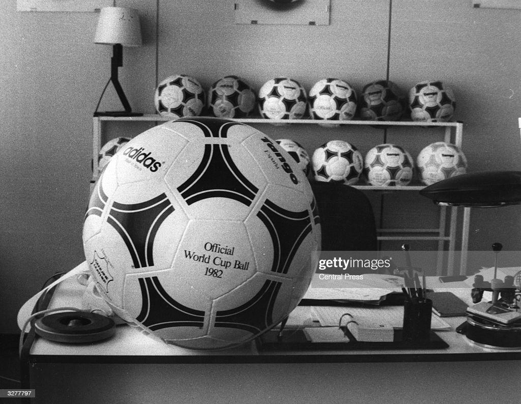 World Cup Footballs : News Photo