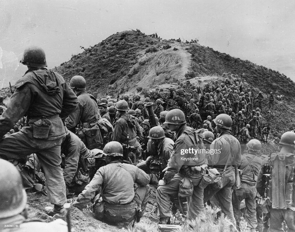 Korean War : News Photo