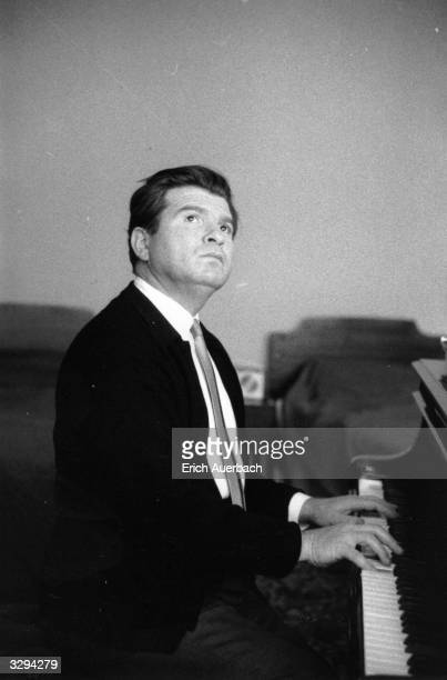 Russian pianist Emil Gilels