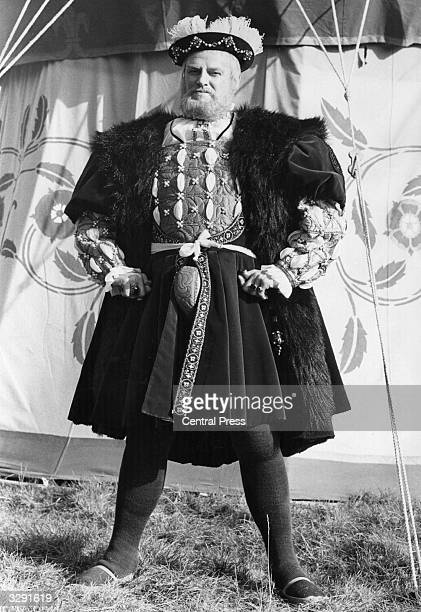 British actor Keith Mitchell who won the Society of Film and TV arts awards for his portrayal of 'Henry VIII'