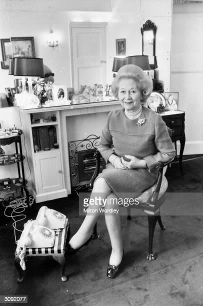British columnist for 'Harper's Bazaar' Betty Kenward.