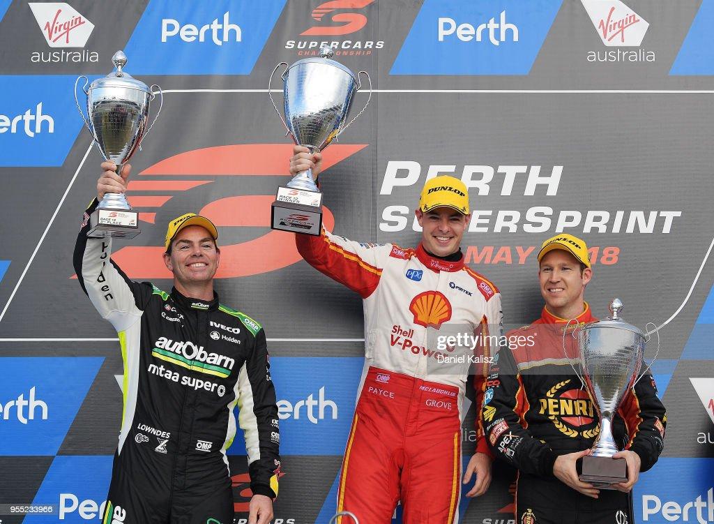 Supercars Perth SuperSprint : News Photo
