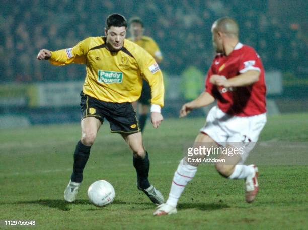 3rd ROUND BURTON ALBION V MAN UTD MATCH WAS A 0-0 DRAW TO GET A REPLAY AT OLD TRAFFORD. 8/1/2006.