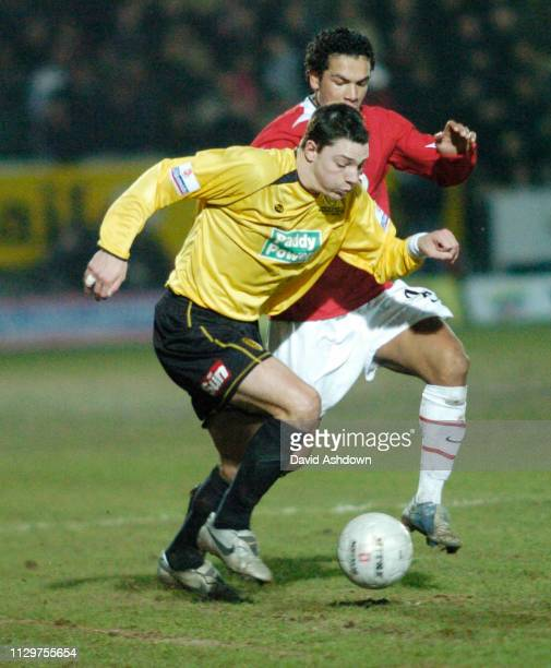 3rd ROUND BURTON ALBION V MAN UTD MATCH WAS A 0-0 DRAW TO GET A REPLAY AT OLD TRAFFORD. CHRIS HALL 8/1/2006.