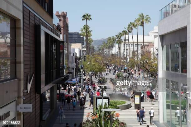3rd St. Promenade Santa Monica in Los Angeles