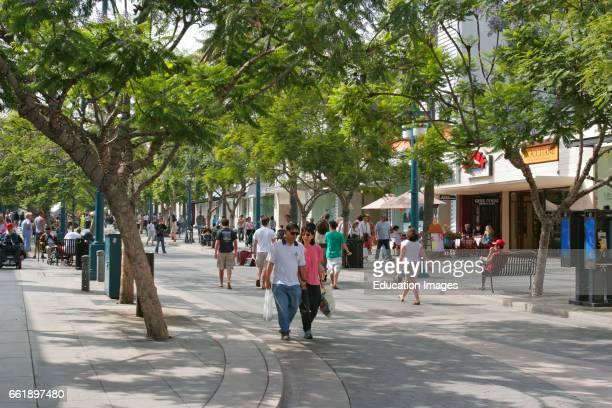 3rd Street Promenade Santa Monica California