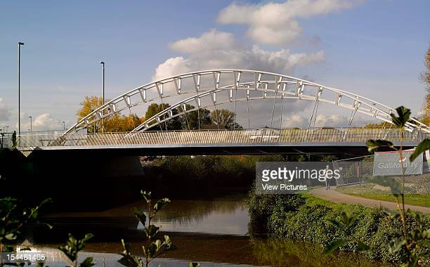 3Rd Way Bridge Taunton Moxon Architects2011View From River Below Moxon Architects United Kingdom Architect