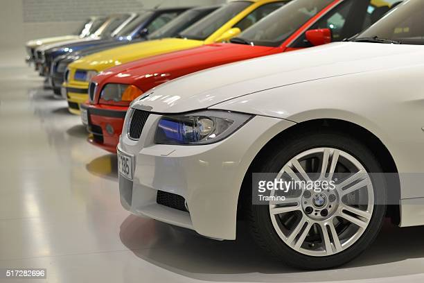 BMW 3-series in a row