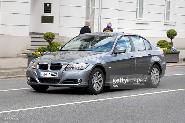 bmw 3-series (e90) - bmw stock pictures, royalty-free photos & images