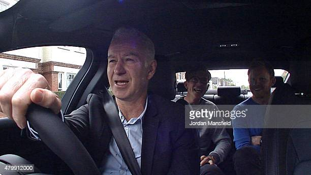 Time Wimbledon Champion John McEnroe surprises Tennis fans Tom Payne and Nick Webb by chauffeuring them to Wimbledon to watch the tennis as part of...