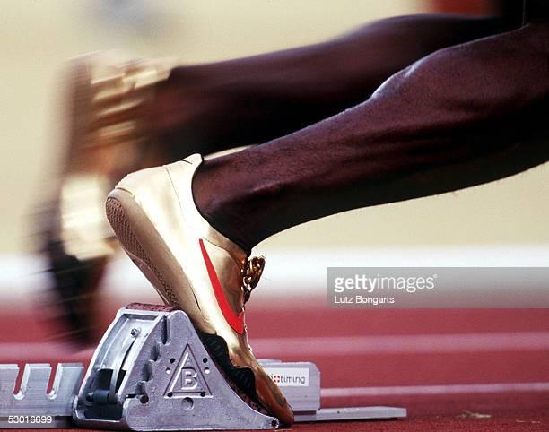 400m Maenner Vorlauf , Atlanta / USA , 26.07.96 Michael JOHNSON / USA FOTO:BONGARTS/Lutz-Bongarts